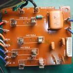 Technics(テクニクス) SP-10mk3 修理後 ヒューズ基板(表)