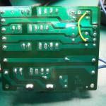 Technics(テクニクス) SP-10mk3 修理後 ヒューズ基板(裏)