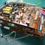 Technics(テクニクス) SP-10mk3 修理後 コントロールユニット内部(1)
