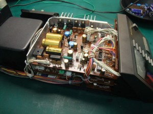 Technics(テクニクス) SP-10mk3 修理後 コントロールユニット内部