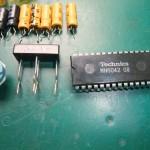 Technics(テクニクス) SP-10mk3 修理後 不良となったIC(MN6042)と電源部ブリッジダイオード