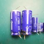 Technics(テクニクス) SP-10mk3 不良となった電解コンデンサー(パンク状態)