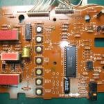 Technics(テクニクス) SP-10mk3 オペレーション基板(修理後:表)