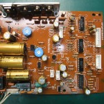 Technics(テクニクス) SP-10mk3 電源基板(修理後:表)
