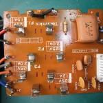 Technics(テクニクス) SP-10mk3 ヒューズ基板(修理後:表)