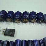 Technics(テクニクス) SP-10mk3 不良部品(液漏れした電解コンデンサー)