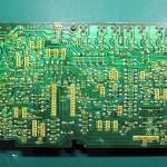Technics(テクニクス) SP-10 MK3 ドライブ回路基板 OH前(半田面)