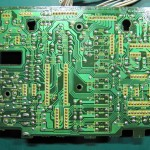 Technics(テクニクス) SP-10 MK3 オペレーション回路基板 OH前(半田面)