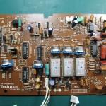 Technics(テクニクス) SP-10 MK3 コントロール回路基板 OH前(部品面)