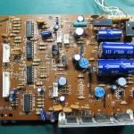 Technics(テクニクス) SP-10 MK3 電源・オペレーション回路基板 OH前(部品面)