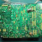 Technics(テクニクス) SP-10 MK3 電源・オペレーション回路基板 OH前(半田面)