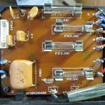 Technics(テクニクス) SP-10 MK3 ヒューズ回路基板 OH後(部品面)