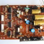 Technics(テクニクス) SP-10 MK3 電源・オペレーション回路基板 OH後(部品面)