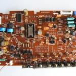 Technics(テクニクス) SP-10 MK3 ドライブ回路基板 OH後(部品面)