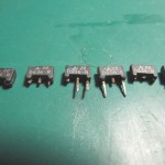 Technics(テクニクス) SP-10 MK3 足が腐食したトランジスタ