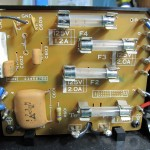 Technics(テクニクス) SP-10mk3 電源ヒューズ回路基板 OH前(表)