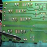 Technics(テクニクス) SP-10mk3 電源・ヒューズ回路基板 OH前(裏)