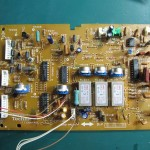 Technics(テクニクス) SP-10mk3 コントロール回路基板 OH前(表)