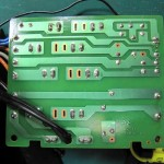 Technics(テクニクス) SP-10mk3 電源ヒューズ回路基板 OH後(裏)