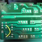 Technics(テクニクス) SP-10mk3 電源ヒューズ基板 OH後(裏)