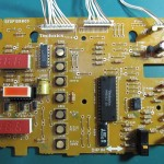 Technics(テクニクス) SP-10mk3 オペレーション回路基板 OH後(表)