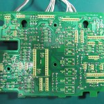Technics(テクニクス) SP-10mk3 オペレーション回路基板 OH後(裏)