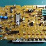 Technics(テクニクス) SP-10mk3 ドライブ回路基板 OH後(表)