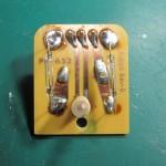 LUXMAN(ラックスマン) PD-121 OH前 回転数切り替えスイッチ部