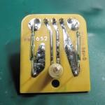 LUXMAN(ラックスマン) PD-121 OH後 回転数切り替えスイッチ部