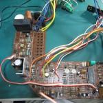 DENON(デンオン) DP-60 駆動回路基板 部品面 オーバーホール前