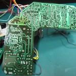 DENON(デンオン) DP-60 駆動回路基板 半田面 オーバーホール後