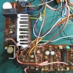 DENON(デンオン) DP-60 駆動回路基板 部品面 オーバーホール後