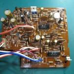 DENON(デンオン) DP-60 制御回路基板 部品面 オーバーホール後
