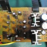 KENWOOD(ケンウッド) KT2020 電源基板 部品面 オーバーホール前