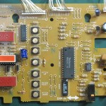 Technics(テクニクス) SP-10mk3 オペレーション回路基板 部品面 オーバーホール前