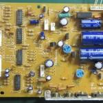 Technics(テクニクス) SP-10mk3 電源・オペレーション回路基板 部品面 オーバーホール前