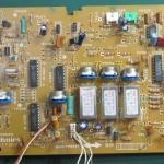 Technics(テクニクス) SP-10mk3 コントロール回路基板 部品面 オーバーホール前