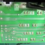Technics(テクニクス) SP-10mk3 ヒューズ回路基板 半田面 オーバーホール前