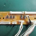 Technics(テクニクス) SP-10mk3 コネクション回路基板 部品面 オーバーホール前