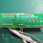 Technics(テクニクス) SP-10mk3 コネクション回路基板 半田面 オーバーホール前