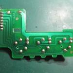Technics(テクニクス) SP-10mk3 スピードセレクター回路基板 半田面 オーバーホール前