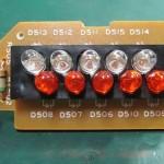 Technics(テクニクス) SP-10mk3 ストロボ回路基板 部品面 オーバーホール前