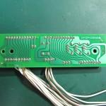 Technics(テクニクス) SP-10mk3 コネクション回路基板 半田面 オーバーホール後