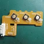 Technics(テクニクス) SP-10mk3 スピードセレクト回路基板 部品面 オーバーホール後