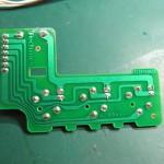 Technics(テクニクス) SP-10mk3 スピードセレクト回路基板 半田面 オーバーホール後