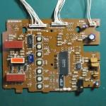 Technics(テクニクス) SP-10 mk3  オペレーション回路基板 部品面 オーバーホール前