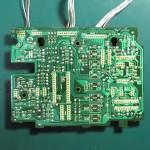 Technics(テクニクス) SP-10 mk3  オペレーション回路基板 半田面 オーバーホール前
