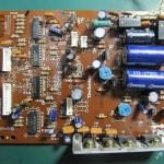 Technics(テクニクス) SP-10 mk3  オペレーション・電源回路基板 部品面 オーバーホール前