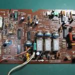 Technics(テクニクス) SP-10 mk3  コントロール回路基板 部品面 オーバーホール前