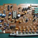 Technics(テクニクス) SP-10 mk3  ドライブ回路基板 部品面 オーバーホール前